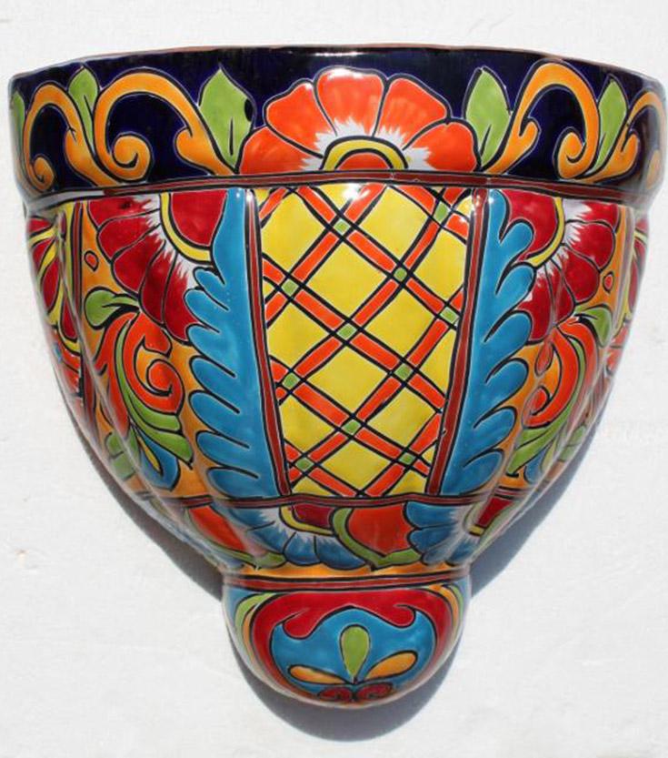 Ceramic Wall Pot F Hadeda Tiles