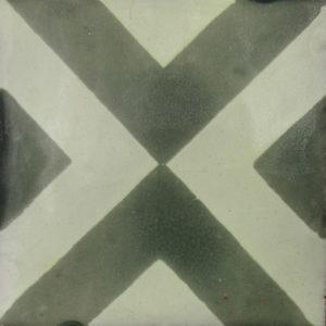 Mexican Talavera Tile - MAN015 GREEN