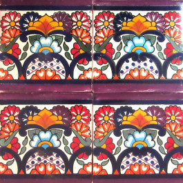 Mexican Talavera Tile - HAD085