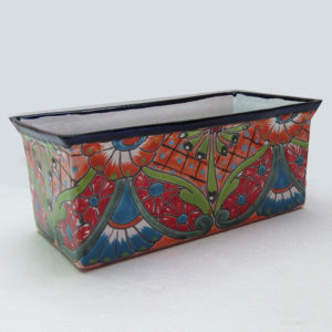 Ceramic Flower Pot - Rectangular Small