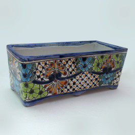 Ceramic Flower Pot - Rectangular Large