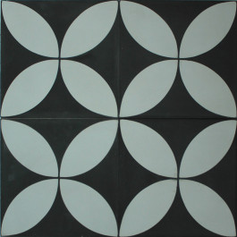 Encaustic Cement Tile - A118