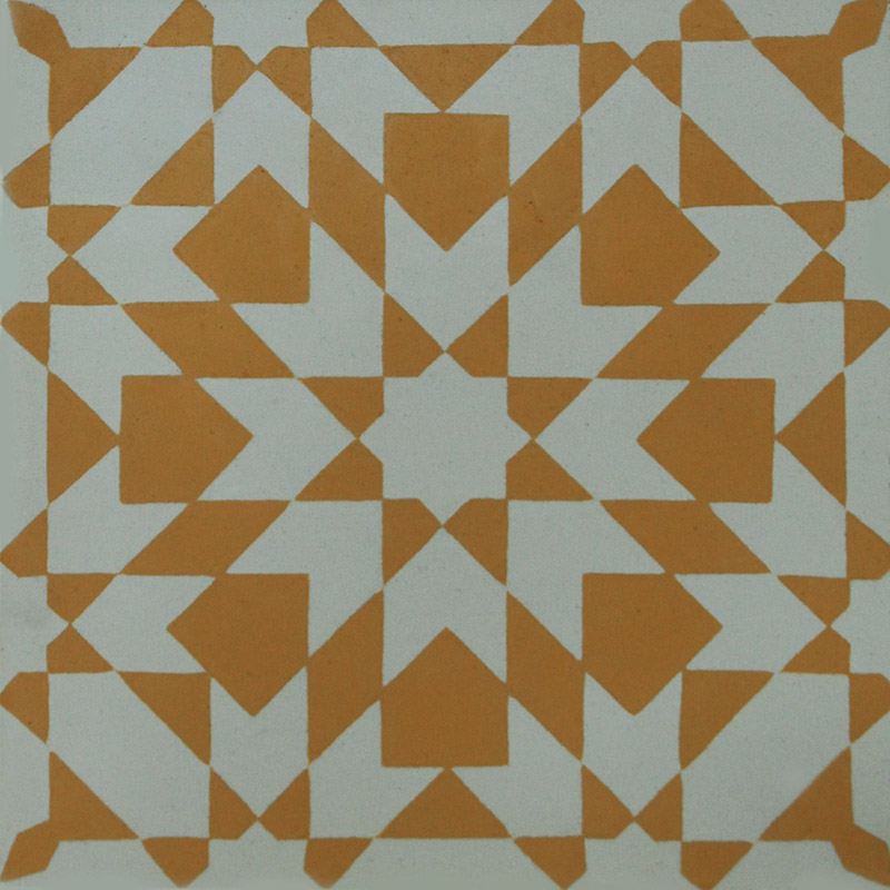 Encaustic cement tile yellow patchwork hadeda tiles for White cement tiles