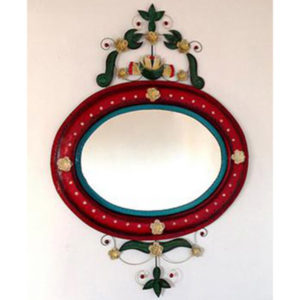 Painted Nest Mirror