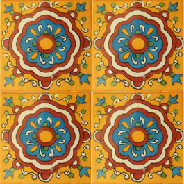 Mexican Talavera Tile - HAD077