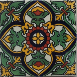 Mexican Talavera Tile - HAD025