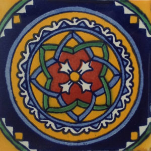 Mexican Talavera Tile - HAD026