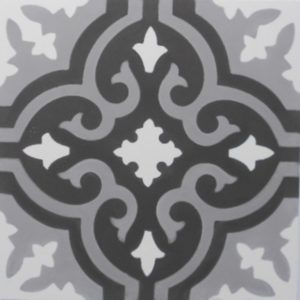 Encaustic Cement Tile – A402 A