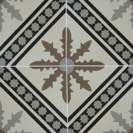 Encaustic Cement Tile – A492