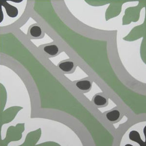Encaustic Cement Tile – A601