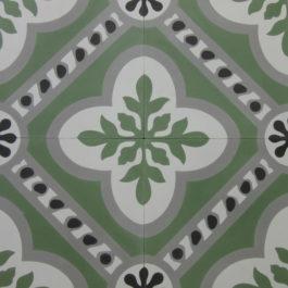 Encaustic Cement Tile – A601