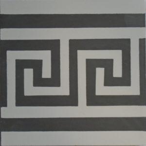 Encaustic Cement Tile – B210