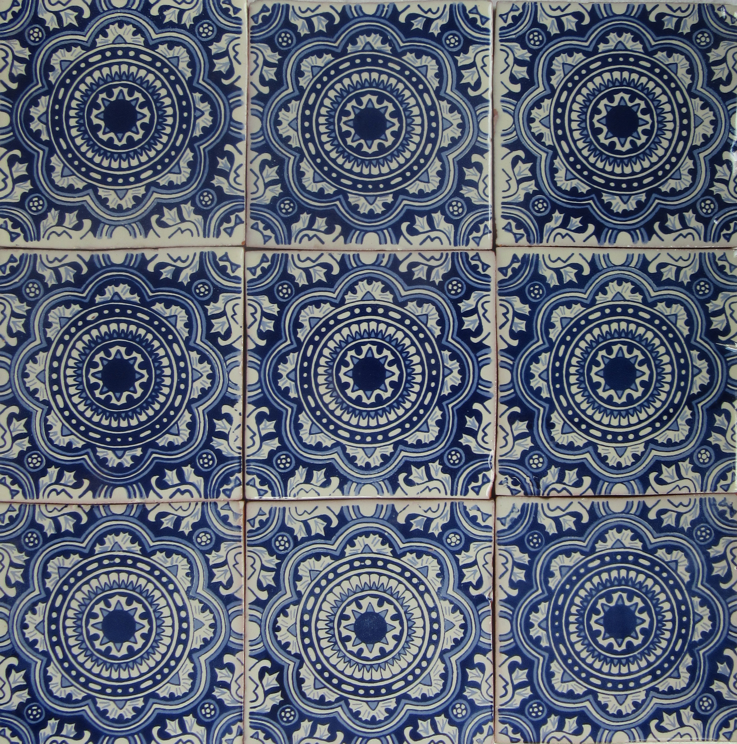 Mexican Talavera Tile Had007 Hadeda Tiles