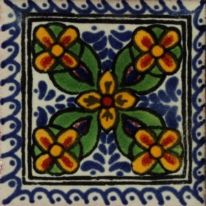 Mexican Talavera Tile – HAD018
