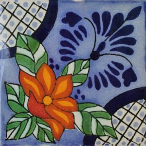 Mexican Talavera Tile – HAD043