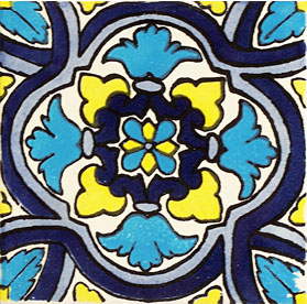 Mexican Talavera Tile – HAD044