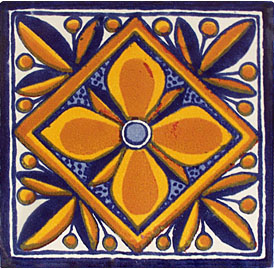 Mexican Talavera Tile – HAD047
