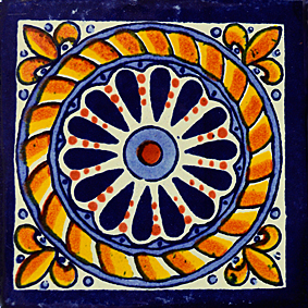 Mexican Talavera Tile – HAD051