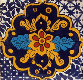 Mexican Talavera Tile – HAD053