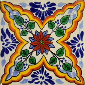 Mexican Talavera Tile – HAD054