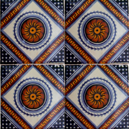 Mexican Talavera Tile – HAD060