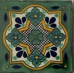 Mexican Talavera Tile – HAD074