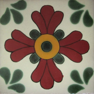 Mexican Talavera Tile – HAD086