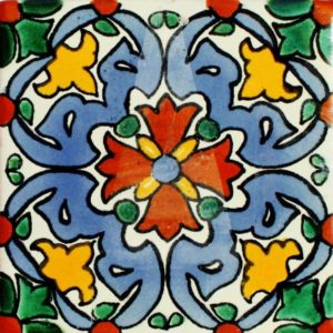 Mexican Talavera Tile – MAN001