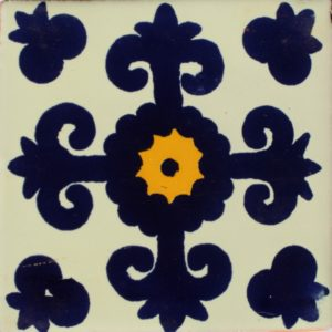 Mexican Talavera Tile – MAN006