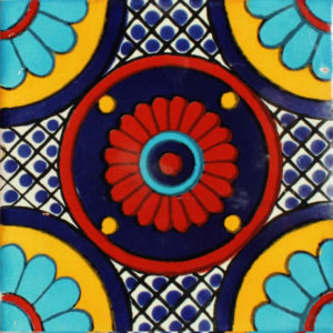Mexican Talavera Tile – MAN007