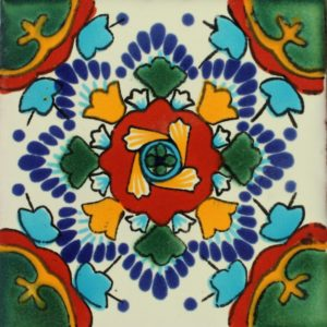 Mexican Talavera Tile – MAN008