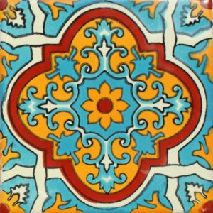 Mexican Talavera Tile – MAN010