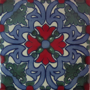 Mexican Talavera Tile – MAN012