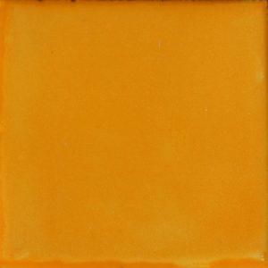 Mexican Talavera Tile – Plain Mustard