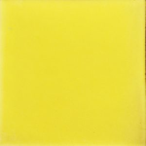 Mexican Talavera Tile – Plain Yellow