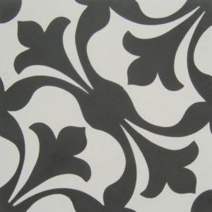 Encaustic Cement Tile - A201A