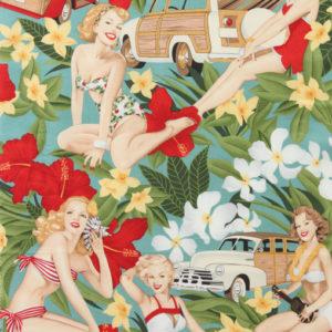 Aloha Girls-Teal