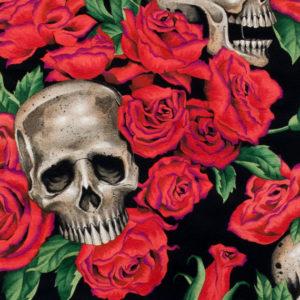 Resting in Roses-Black