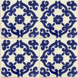Mexican Talavera Tile - HAD 090