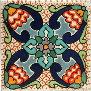 Mexican Talavera Tile - HAD 092