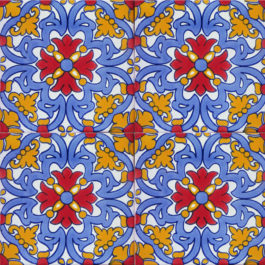 Mexican Talavera Tile - MAN 027_YELLOW