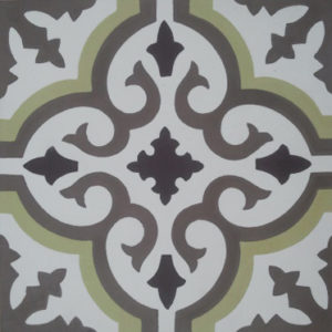 Encaustic Cement Tile A402-C