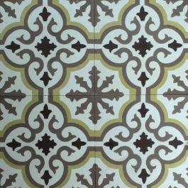 Encaustic Cement Tile A402-C