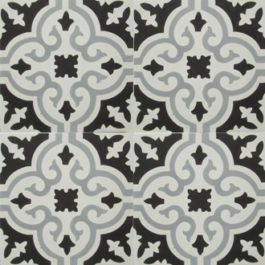 Encaustic Cement Tile - A402-D