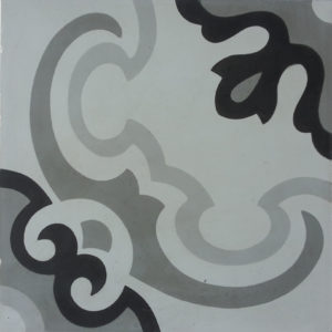 Encaustic Cement Tile A403-GREY