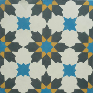 Encaustic Cement Tile A411-A