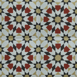 Encaustic Cement Tile A931