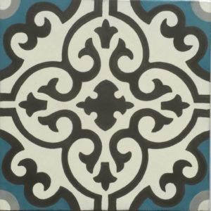 Encaustic Tile AZ 17
