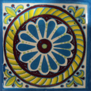 Mexican Talavera Tile – NEW 004