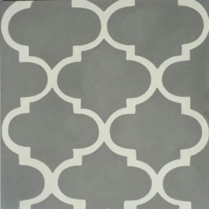 Encaustic Cement Tile – A635